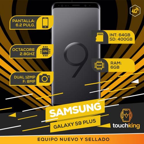 samsung galaxy s9 plus 64gb ram 6gb libre de fabrica sellado