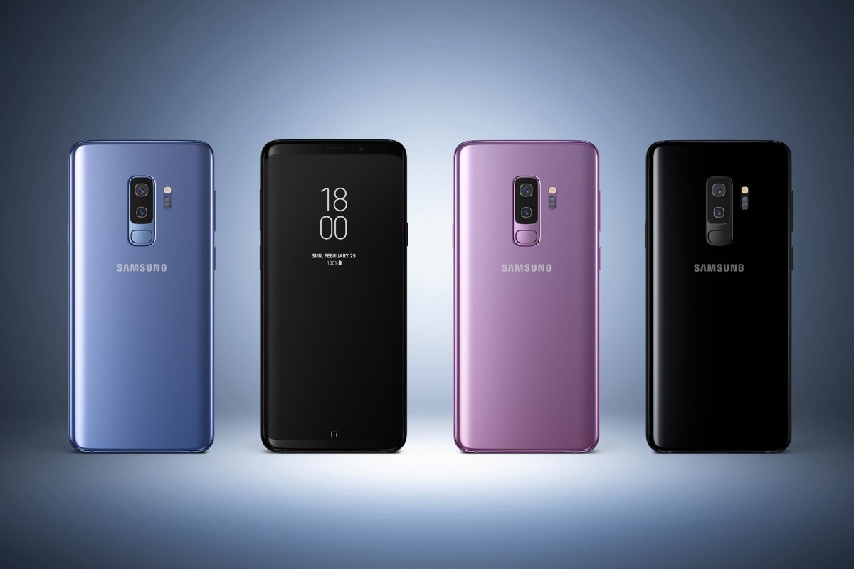 samsung galaxy s9 plus nuevo a o de garantia todos colores 19 en mercado libre. Black Bedroom Furniture Sets. Home Design Ideas