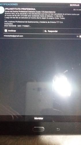 samsung galaxy tab e sm-t561m 9.6 wifi + 3g desbloqueado