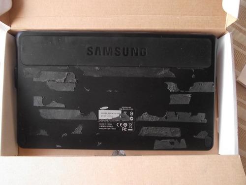 samsung galaxy tab keyboard dock, usado con detalle