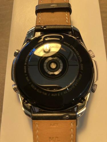 samsung galaxy watch 3 - 45 mm mystic silver inoxidable