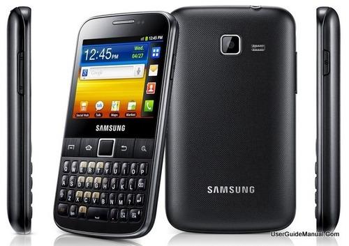 samsung galaxy y pro b5510 android qwerty wifi touchgps mp3