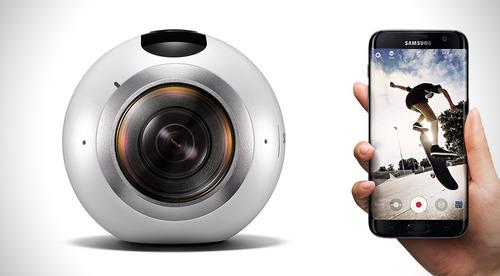 samsung gear 360 realidad virtual cámara video 15mpx dual