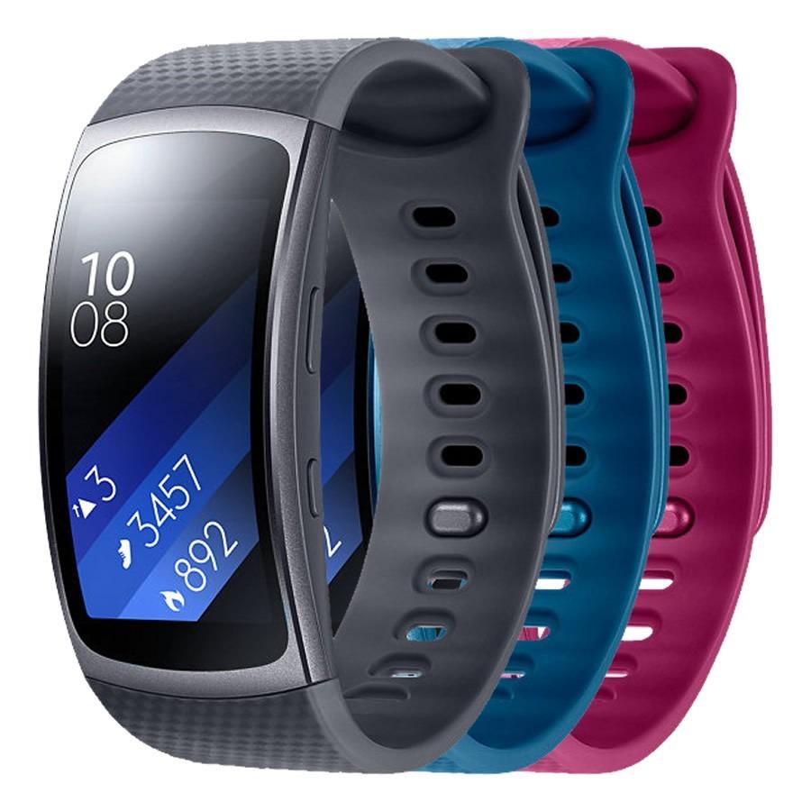 Reloj Samsung Gear Fit 2 Contra Agua Musica Gps Wi Fi