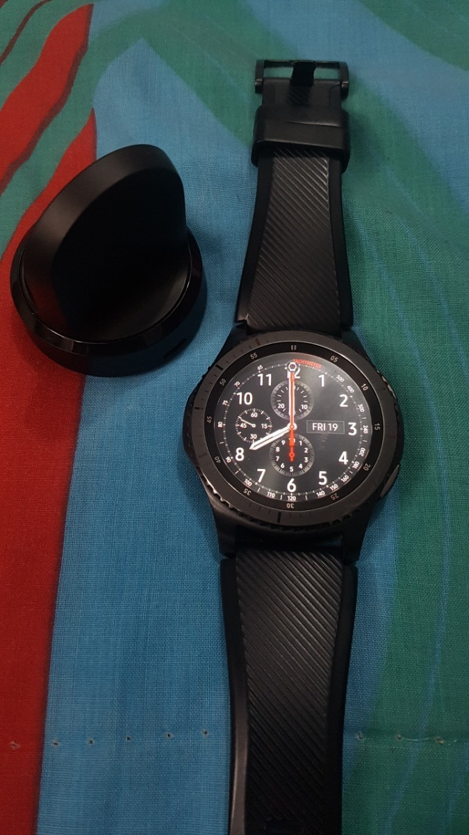 Samsung Gear S3 Frontier, 4g Lte 1,3pulg Nfc Ritmo Cardiaco