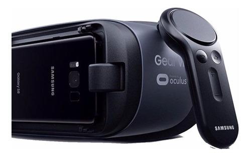 samsung gear vr 2017 sm-r324 casco con mando a distancia