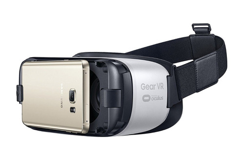samsung gear vr (lentes de realidad virtual) color blanco