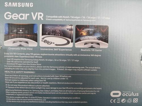 samsung gear vr oculus - poco uso