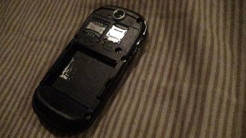 samsung gt-s7550 para repuesto sin bateria, no reconoce sim