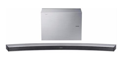 samsung hw-j6001r/zbarra sonido subwofer 300w curva plateada