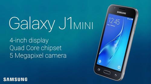samsung j1 mini prime 8gb + mica vidrio camara con flash
