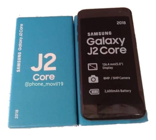 samsung j2 core. nuevos! tienda fisica.