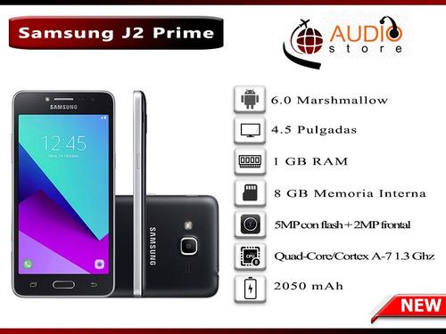 samsung j2 prime 8gb interna 1gb ram 5mp flash + 2mp frontal