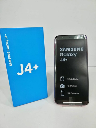 samsung j4+plus nuevo de paquete