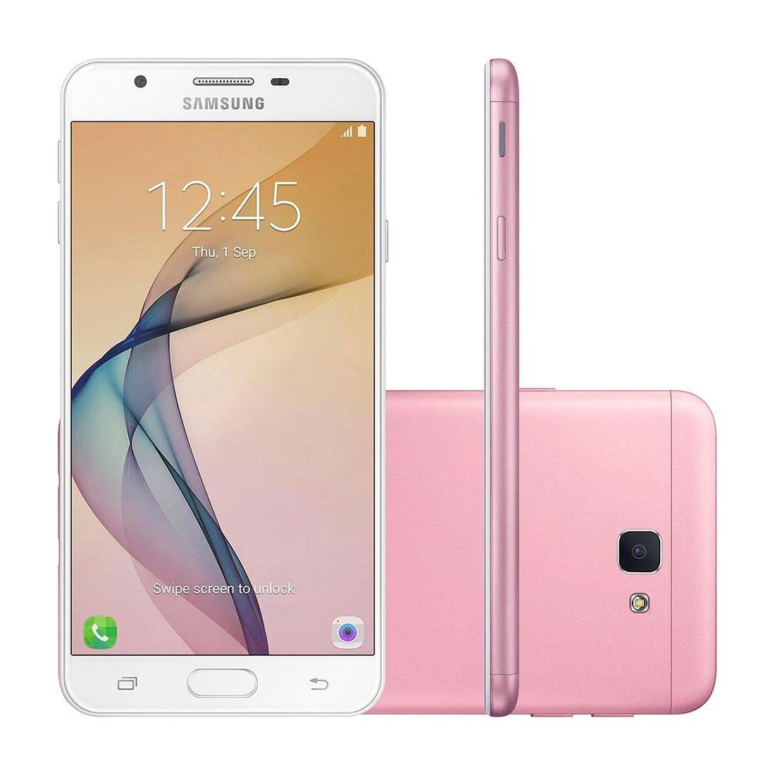Samsung J5 Prime Duos 32gb Rosa - Novo - R$ 780,00 em