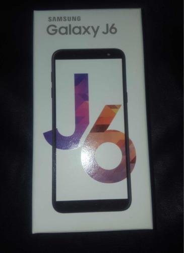 samsung j6 32gb black nuevo sellado tienda física trmps