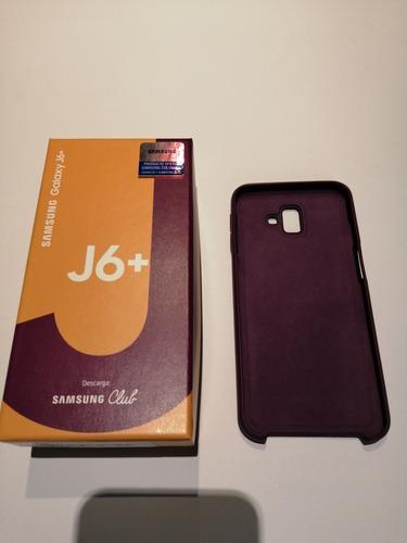 samsung j6 plus, 32 gb, nuevo, con factura, gray