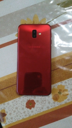 samsung j6 plus color rojo