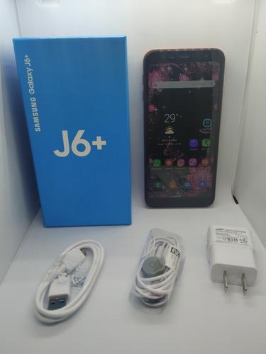 samsung j6 plus usado 100% operativo lte con todas