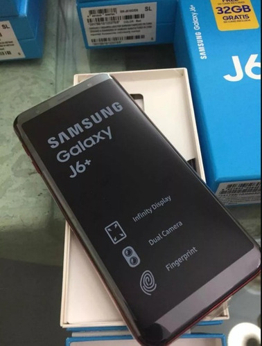samsung j6 y plus 13mp 2gb 32gb + 32gb de regalo