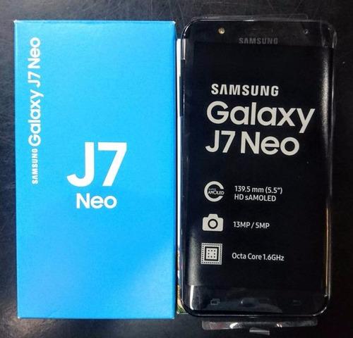 samsung j7 neo 2017 4g 13mp 2gb ram 16gb  octa +vidrio+ gtia