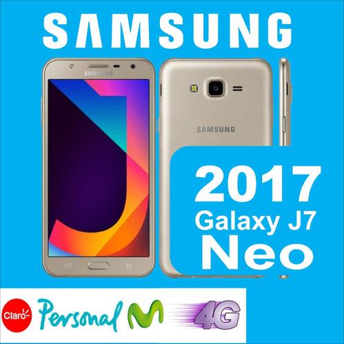 samsung j7 neo + nuevo modelo 2017 original + templado
