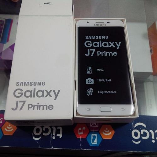 samsung j7 prime 3gbram lte 13mp 16gb sellado, tienda fisica