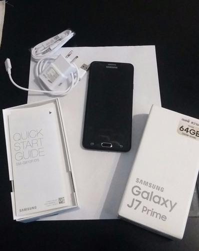 samsung j7 prime. 64 gb!! nuevo en caja+vidrio protector, 3g