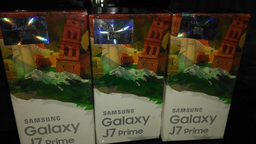samsung j7 prime l/fábrica 4g 3gb ram 16gb 13mp 8mp sellado