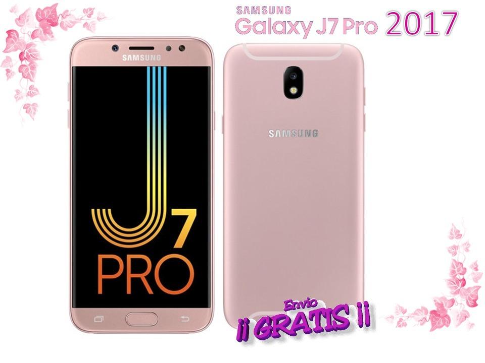 e5931c9e67 Samsung J7 Pro 2017 3gb Ram 32gb Dorado Funda Vidrio Regalo ...