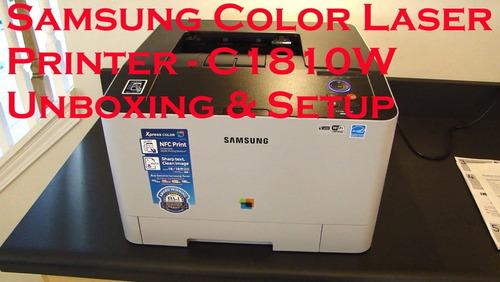 samsung laser color