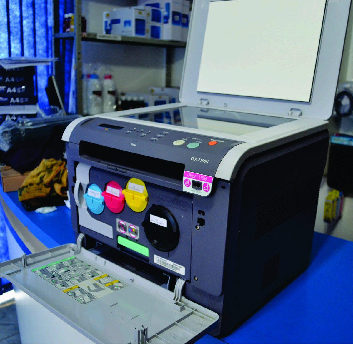 impressora samsung clx 2160n laser color defeito r 359 90 em mercado livre. Black Bedroom Furniture Sets. Home Design Ideas