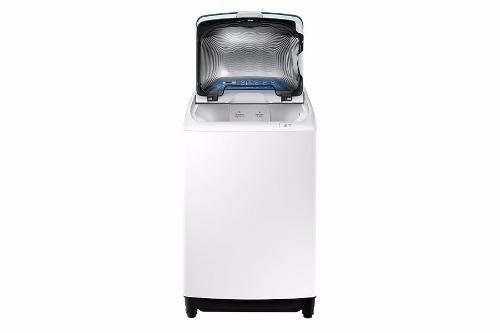 samsung lavadora 15 kg activdual wash white wa15j5730lw/zs