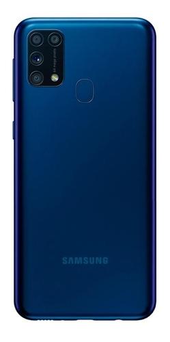 samsung m31 128gb 6 ram + cover azul
