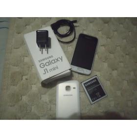 Samsung Mini J1  Usado , Liberado,caja, Cargador,manos Libre