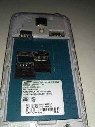 samsung mini s4 modelo gt-i9192, muerte súbita, para reparar