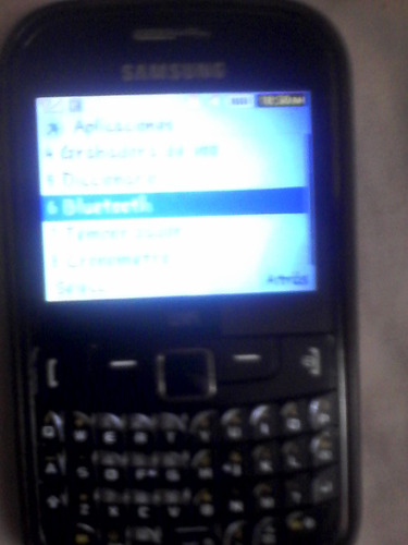 samsung  mod. gt-s3350 chat