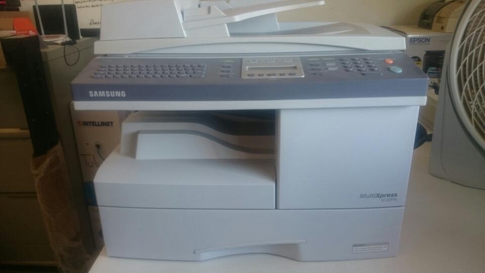 New Drivers: Samsung SCX-6122FN Scanner