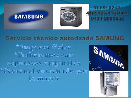 samsung neveras lavadoras secadoras servicio técnico