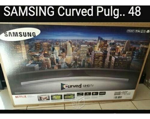 samsung pantalla curva 48 pulg