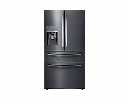 samsung refrigeradora 600 lt rf28jbedbsg/pe negro inox