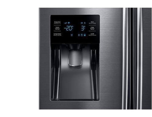 samsung refrigeradora no frost 589l rf263beaesg - negro