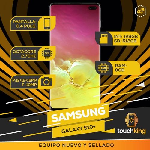 samsung s10 plus 128gb 8gb libre de fabrica sellado - negro