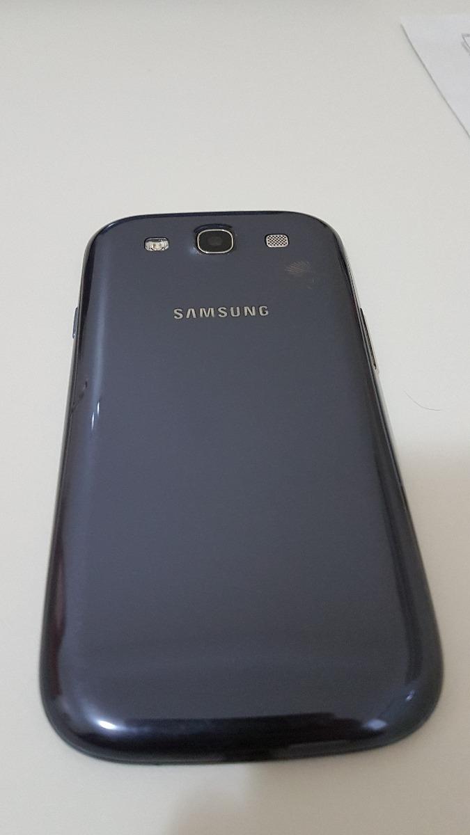 Samsung S3 Gt I9300 Azul - Led/som Ok - Display Não Liga!