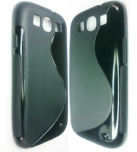 samsung s3 i9300 forro tpu + lamina protectora