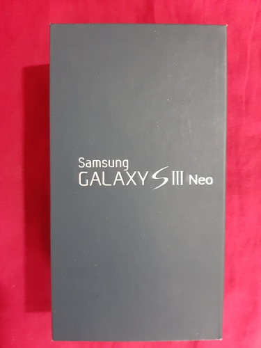 samsung s3 neo gt-i9301i usado