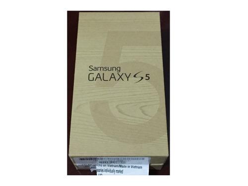 samsung s5 16gb dorado  ref 90.00