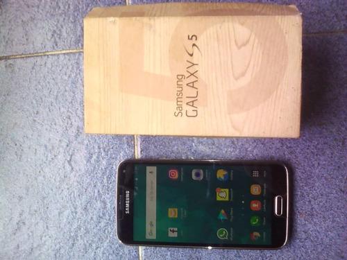 samsung s5 con caja 4g