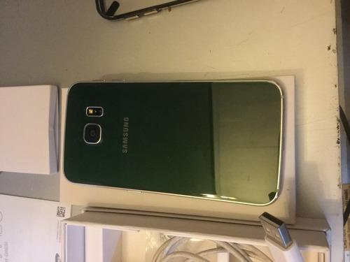 samsung s6 edge verde 32 gb no cambio
