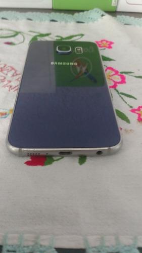 samsung s6 flat libre azul
